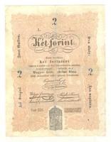 2 Két forint 1848 Kossuth bankó 1.