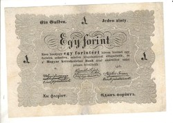 1 egy forint 1848 Kossuth bankó 4.