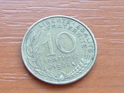 FRANCIA 10 CENTIMES 1968