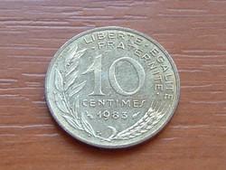 FRANCIA 10 CENTIMES 1983