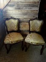 Antik bécsi barokk szék (2db)