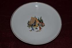 Hollóházi mese tányér ( sütis )  ( DBZ 0053 )
