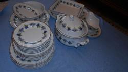 Hollóházi 6 személyes porcelán készlet hibátlan,