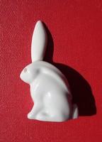 Miniatűr 1950-1960 közötti Herendi porcelán nyuszi
