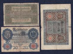 3 db német márka (id5539)