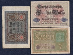 3 db német márka/id 5551/