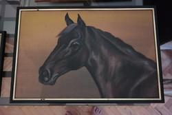 Lovas festmény