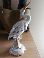 Royal dux bohemia  gólya, madár