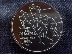 XIV. Téli Olimpia Szarajevo ezüst 500 Forint 1984 (id5630)