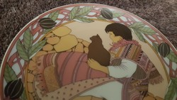 "Villeroy & Boch wallhanging plates from the ""Children of the World"" series. Perfect condition!"