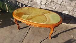 Marvany dohanyzo asztal