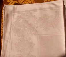 3 db.gyönyörű toledós damaszt szalvéta 48x48 cm.