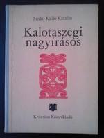 Sinkó Kalló Katalin: Kalotaszegi nagyírásos