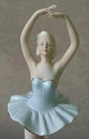 AKCIÓ!!!Ritka Bock u. Teich Német porcelán balerina áron alul eladó!