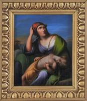 Spiró Ede (1805-1856): Anya alvó gyermekével
