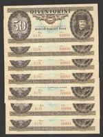 50 forint 1983.  7 db sorszám követő!! UNC!!