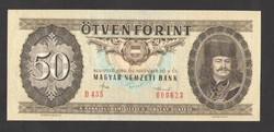 50 forint 1986. Alacsony sorszám: 623. !! UNC!!