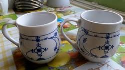 Porcelán csupor, pohár 2 db eladó!