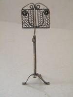 Antik ezüst mini kottatartó állvány