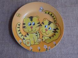 Kis tigrises gyerektányér