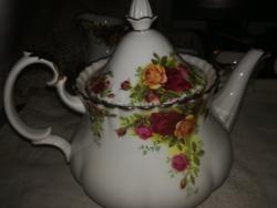 Nagyméretű Royal Albert teáskanna