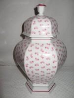 Porcelán NAGY bonbonier - JELZETT - Seltmann Weiden - 1,3 liter - hibátlan