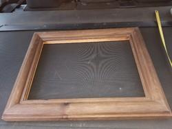 30x40 fészkű, vastag, mély fakeret, kiváló állapotban