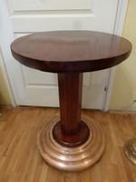 Szecessziós asztal / posztamens.