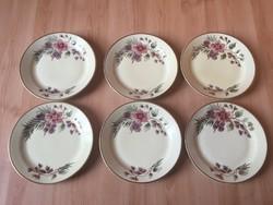 Óriás Zsolnay kínáló tányér tál 1960-as évek