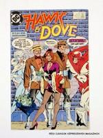 HAVK & DOVE  /  DC NO. 4  /  Külföldi KÉPREGÉNY Szs.:  9711