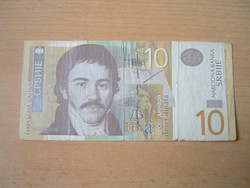 SZERBIA 10 DINÁR 2006 AG #
