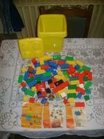 Lego duplo játék vödörben - 2002-ből - 4087 számú