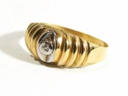 Arany gyűrű(Kecs-Au74259)