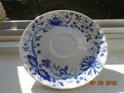 4 db Meisseni gazdag kék hagyma mintás csésze alátét-14,5 cm