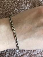 Csodálatos ezüst karkötő 925