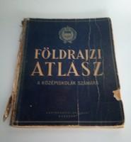 Közép-iskolai Földrajzi Atlasz, 1958