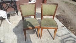 2db régi szék együtt felújításra