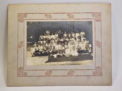 Fiú iskola 1920-as évek  csoportkép
