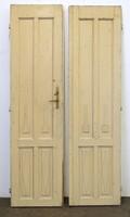 0V945 Régi nagypolgári kétszárnyú szoba ajtó pár