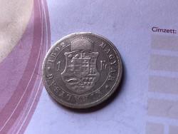 1892 ezüst 1 forint ritkább