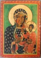 Stella Miklós ikon, kézi munkával készített, zsűrizett, jelzett kép