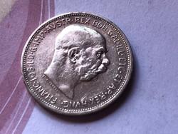 1912 ezüst 2 korona,szép darab