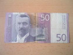 JUGOSZLÁVIA 50 DINÁR 2000 AH058 #