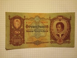 Nagyon szép 50  Pengő 1932 !!