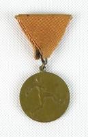 0W154 Régi réz labdarúgó kitüntetés sportérem