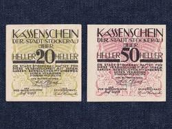 2 db osztrák szükségpénz 1919 (id7455)