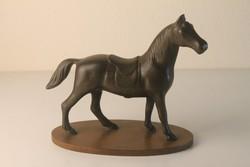 Art Deco bakelit ló szobor