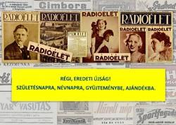 1930 április 18  /  Rádióélet   /  Régi ÚJSÁGOK KÉPREGÉNYEK MAGAZINOK Szs.:  7111