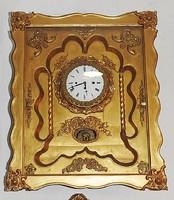Biedermeier zenélő keret óra 1820 - 1860 -as évekből. Hibátlan! Eredeti Bécsi!