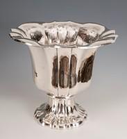 Ezüst  nagy méretű váza/kaspó